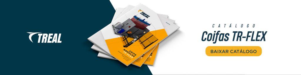Conheça nosso catálogo e peça um orçamento de nossas  Coifas TR-FLEX | Treal