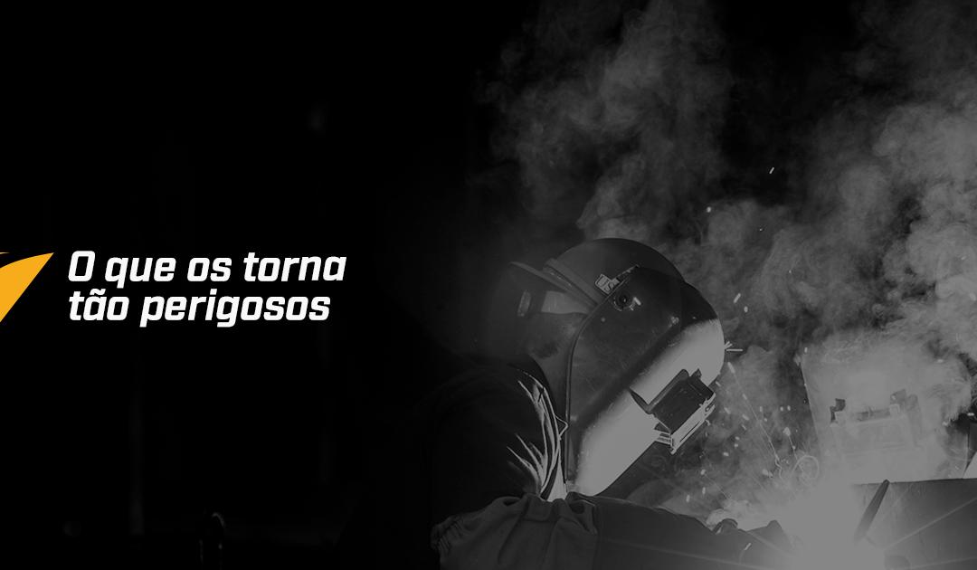 Por que os fumos de soldagem são tão perigosos?