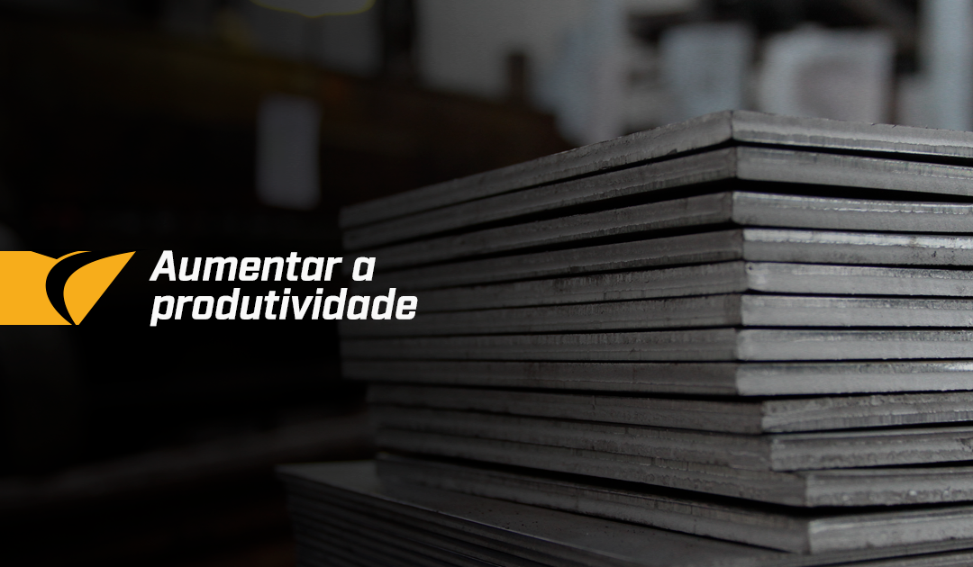 Como aumentar a produtividade no corte de chapas de aço