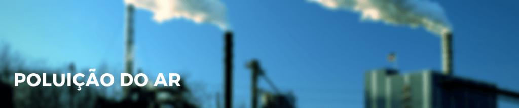 Poluição do ar no meio industrial
