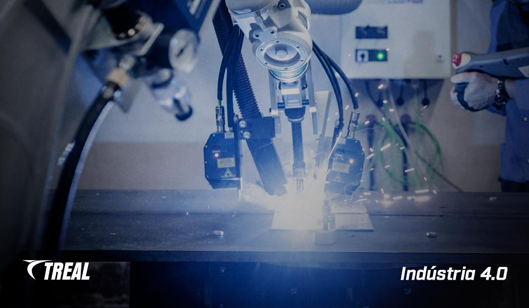 Como a indústria 4.0 pode ser aplicada no processo de soldagem robotizada